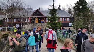 Szczeliniec Wielki schronisko PTTK 905m n.p.m.