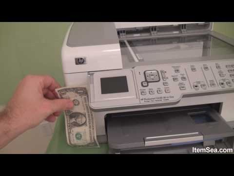 HP Photosmart C6180 All in One Printer, Fax, Scanner, and Copier (ItemSea)