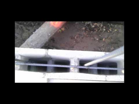 How to Place Rebar in Masonry or CMU Walls