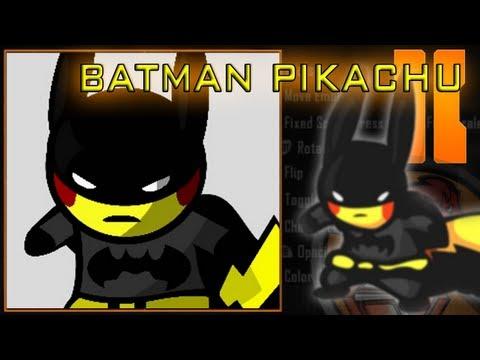 Black Ops 2 - Batman Pikachu Emblem Tutorial
