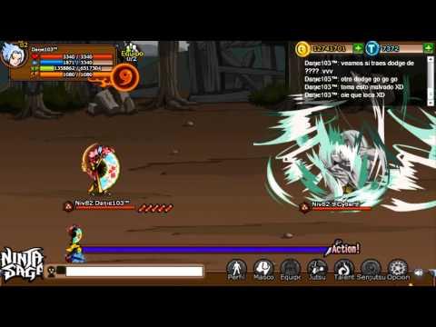 Ninja Saga    PvP 1 vs 1 Daηιє103™ vs 卐Cyber卐