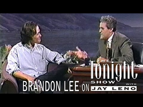 Brandon Lee on The Tonight Show [High Quality]