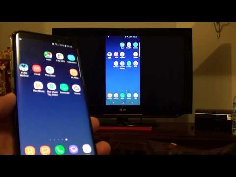 Samsung Galaxy S8: How to Cast / Stream the Screen to TV