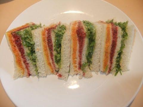Ribbon / Rainbow Sandwich.
