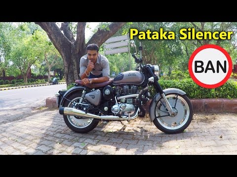 Royal Enfield owners will go to jail if caught using pataka silencers - Tinku Moon