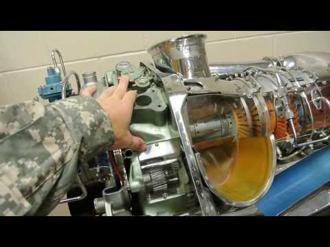 How A Gas Turbine Eninge Works, Bell 206 Helicopter