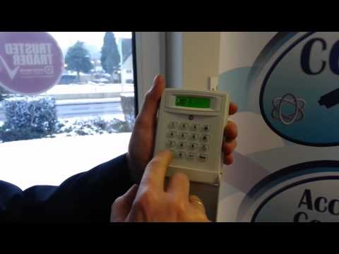 How to change your Risco alarm code   http   www mercury security co uk