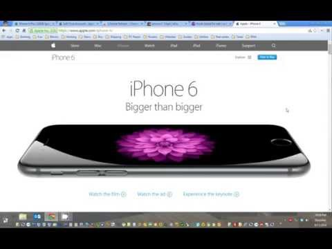 How to Pre order Iphone 6 | Fast Checkout from apple store