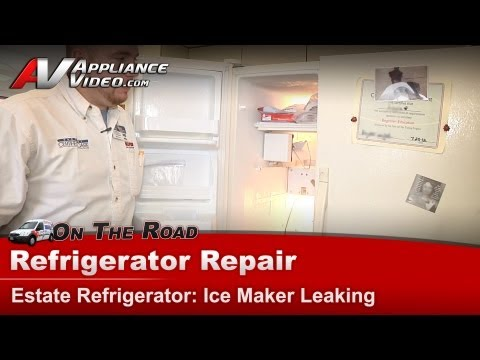 How do you repair a Whirlpool ice maker?
