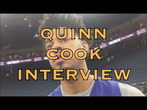QUINN COOK interview from 2018 NBA Finals Media Day at Oracle Arena