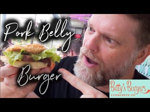 Betty's Burgers Pork Belly Burger Review - Greg's Kitchen