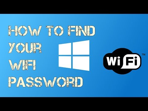 How to find your Saved Wifi Password