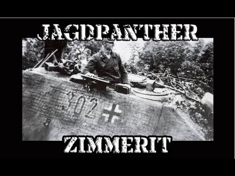 How To Make Zimmerit:  1/35 Jagdpanther Zimmerit Tutorial