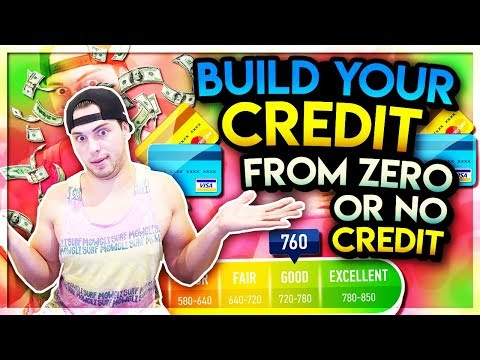 How To Build Your Credit Score ASAP | From Zero & At Any Age
