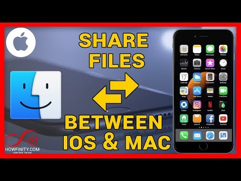 How to share files between iOS & Mac using Airdrop