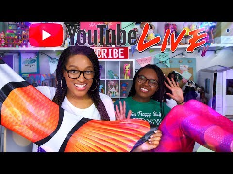 YouTube LIVE with The Froggy's | HAPPY PLACES CONTEST | Q&A | EASTER Baskets & More