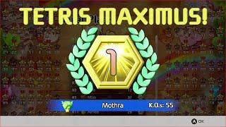[Tetris 99] 55 KO game (Current World Record)