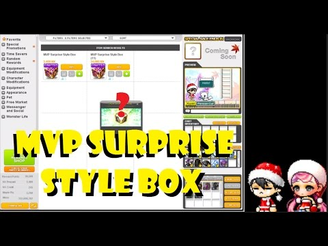 MVP Surprise Style Box Openning