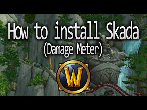 World of Warcraft: How to install Skada (Damage Meter)