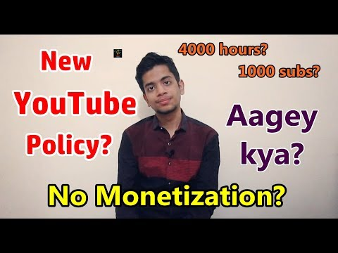 [HINDI] What Is YouTube's New Partner Policy ? My Channel in Danger? | Changes and Effects Explained
