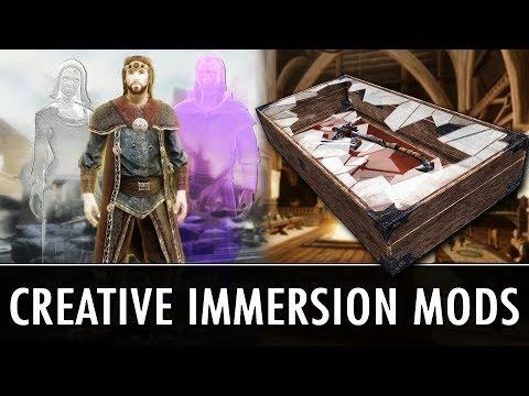 Skyrim Mods: 2 Creative Immersion Mods