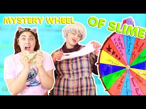MYSTERY WHEEL OF SLIME WITH GRANDMA BUÜRDA ~ She cheated! ~ Slimeatory #361