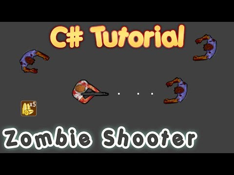 C# Tutorial - Create a Zombie Survival Shooting Game in Visual Studio