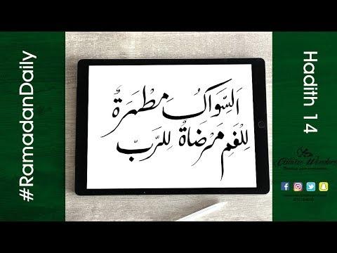 hadith 14 : السواك مطهرة للفم مرضاة للرب
