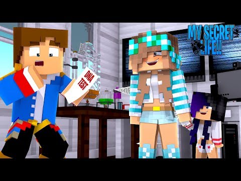Minecraft MY SECRET LIFE - DNA TEST REVEALS MY EX GIRLFRIEND'S BABY IS MY DAUGHTER!!