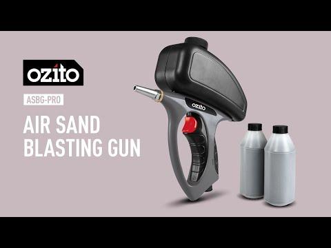 Ozito Air Sand Blasting Gun - Product Video