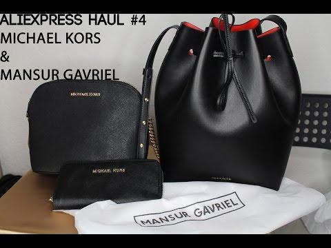 Aliexpress Haul #4!Bags & Wallet- Michael Kors & Mansur Gavriel