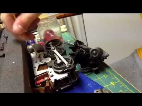 How to perfect your old lionel loco