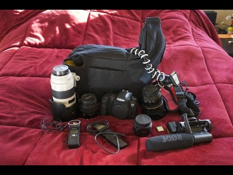 What's in my camera bag? + Giveaway