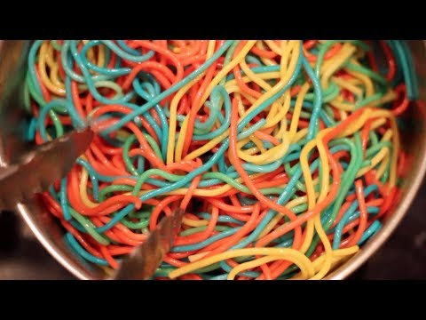 Rainbow Pasta Review- Buzzfeed Test #111
