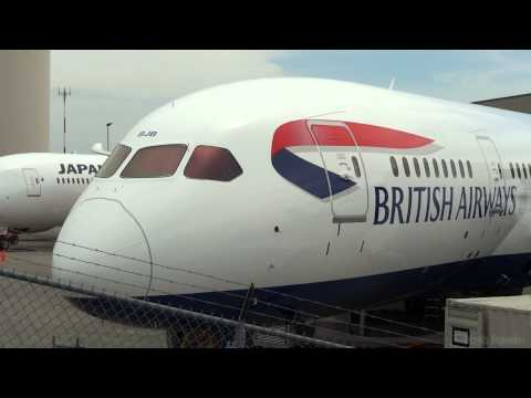 British Airways 787 Dreamliner at Everett pre-delivery - G-ZBJB.