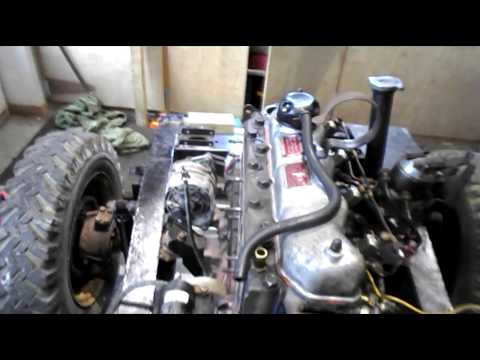 Project Land Rover Series III: Engine In