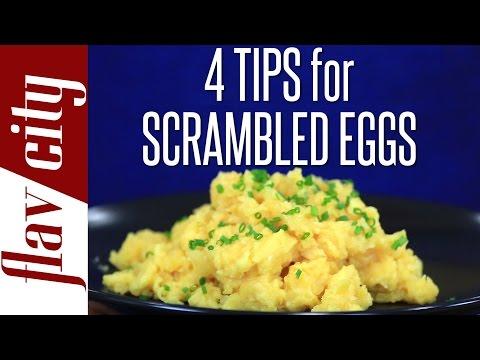 Best Scrambled Eggs Recipe Ever How To Scrambled Eggs Easy
