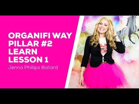 Organifi Way Pillar 2 Learn - Lesson 1 - Passion vs. Work | Create Your List - Jenna Ballard