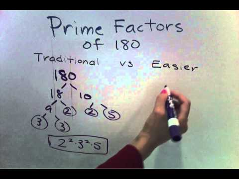Prime Factorization for larger numbers (Easier Method) (5 of 7)