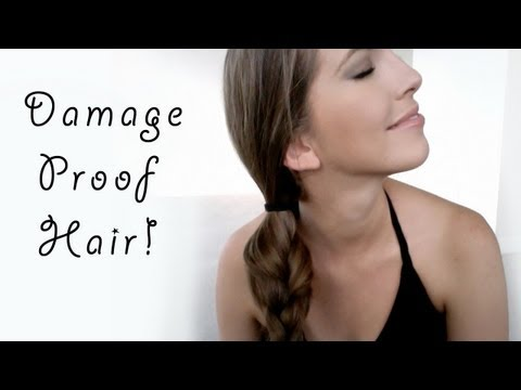 Damage-proof hairstyles for growing long healthy hair!
