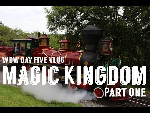 Magic Kingdom Part One! Walt Disney World Day Five June 2017