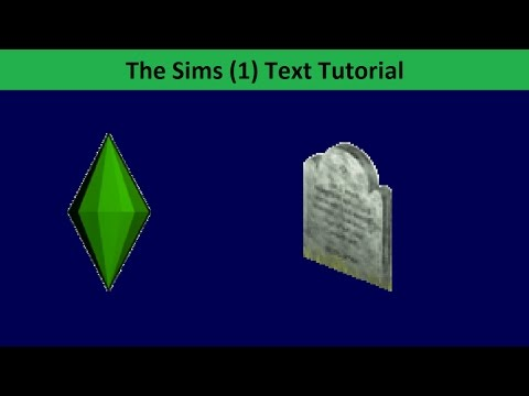 The Sims Text Tutorial: Death