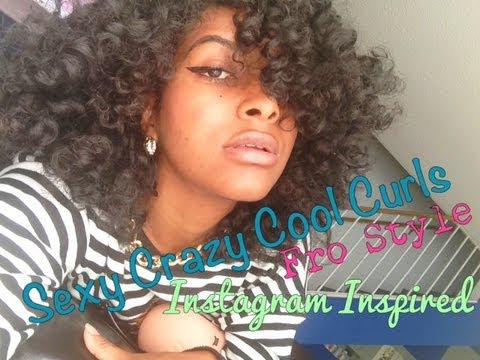 Natural Hair: Perfect Curly Afro Tutorial