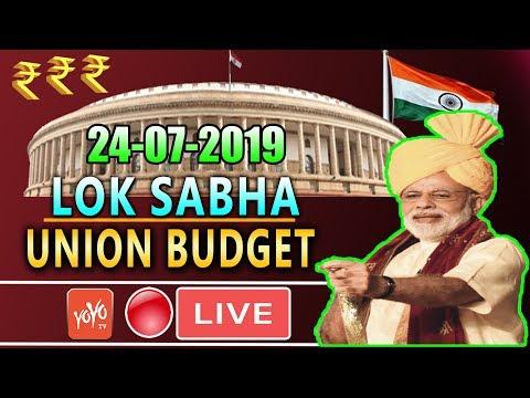 Xxx Mp4 LOK SABHA LIVE 14th Day Parliament Union Budget 2019 Of 17th Lok Sabha PM Modi Om Birla 3gp Sex