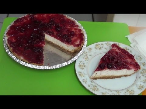 Cold Cheesecake - NO BAKE! Easy recipe, quick and simple.