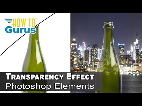 Photoshop Transparency : How to Transparent Effect on Bottle in Photoshop CC 2018 CS6 CS5 Tutorial