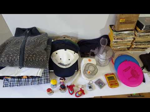 Garage Sale / Thrift Store Haul for reselling on Ebay - Making Money from home