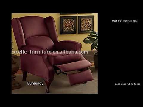Wingback Recliner - Wingback Recliners Chairs Living Room Furniture| Stylish Modern Interior