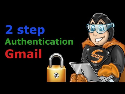 set up 2 step verification with Gmail