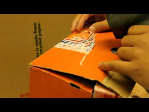 How to Remove Tape from a Shoebox